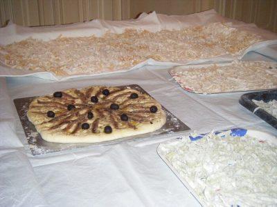 exemple de repas servi avec le séjour dans les chambres d'hôtes 83